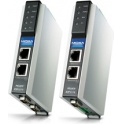 Prevodník priemyselný MGate EIP3170-T DF1 full-duplex 1xRS232/422 DB9M, 1xLAN EtherNet/IP CIP (PCCC), -40 až 75°C