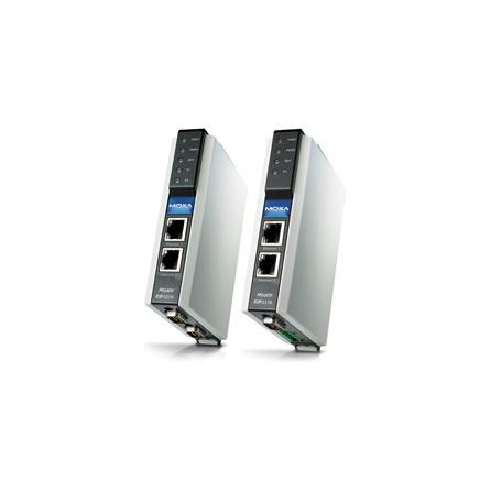 Prevodník priemyselný MGate EIP3170I DF1 full-duplex 1xRS232/422 DB9M, izol., 1xLAN EtherNet/IP CIP (PCCC)