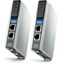 Prevodník priemyselný MGate EIP3270-T DF1 full-duplex 2xRS232/422 DB9M, 1xLAN EtherNet/ IP CIP (PCCC), -40 až 75°C