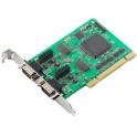 Komunikačná karta CP-602U-I PCI/ PCI-X, 2 x CAN DB9M, 2KV opt. izol., 0 až 55°C bez káblov