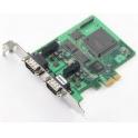 Komunikačná karta CP-602E-I PCIe, 2 x CAN DB9M, 2KV opt. izol., 0 až 55°C, bez káblov