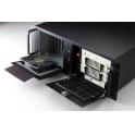 """Skrinka do 19"""" 4U pre ATX MB IPC-611MB pre ATX zdroj čierna"""