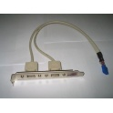 Príslušenstvo 1700100170 USB lišta 2xUSB pre PICMG CPU karty Advantech RoHS