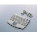 Klávesnica Advantech KBD-6305 PS/2 US 88 kláves, Touchpad, na stôl