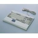 Klávesnica Advantech KBD-6307 PS/2 ENG 105 kláves, Touchpad, na stôl
