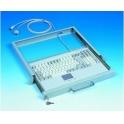 Klávesnica Advantech KBD-6312 PS/2 ENG 105 kláves, Touchpad, do racku