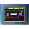 """LED monitor 15"""" 1024x768 FPM-3151G VGA DVI-D tvrdené sklo -20až 60°C"""